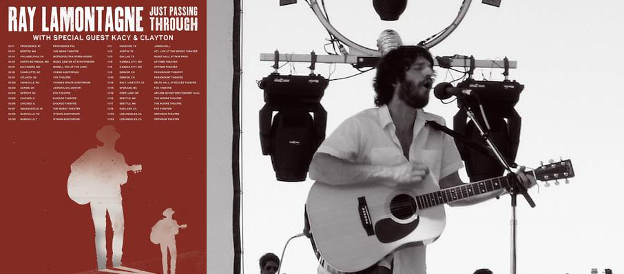 Ray LaMontagne at Carpenter Theater