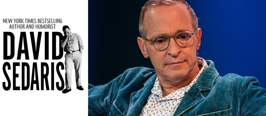 David Sedaris at Carpenter Theater
