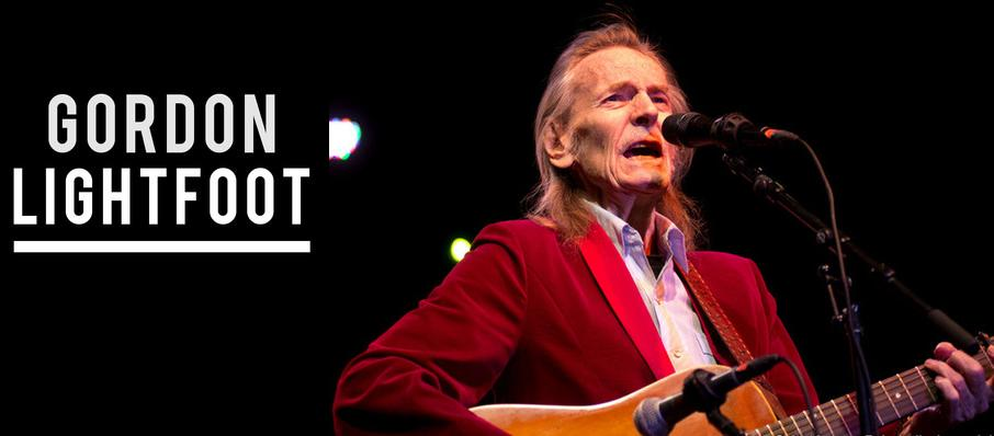 Gordon Lightfoot at Carpenter Theater