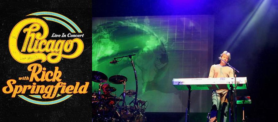 Chicago - The Band at Virginia Credit Union Live!