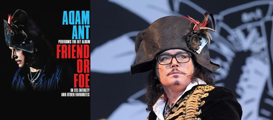 Adam Ant at The National