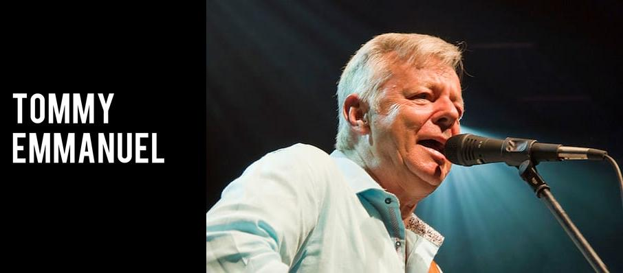 Tommy Emmanuel at Carpenter Theater