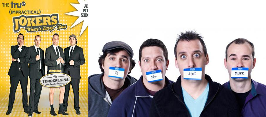 Cast Of Impractical Jokers & The Tenderloins at Altria Theater