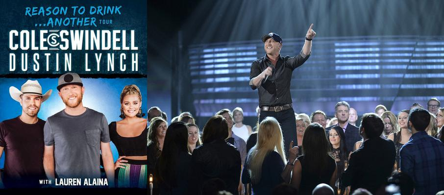 Cole Swindell and Dustin Lynch at Richmond Coliseum