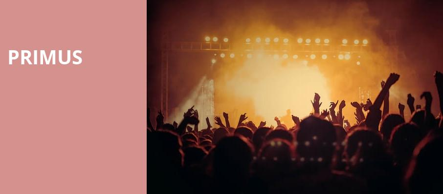 Primus, The National, Richmond