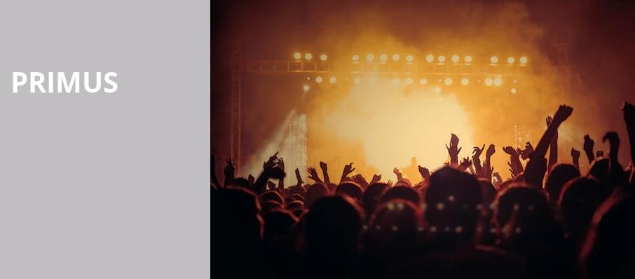 Primus, Virginia Credit Union Live, Richmond