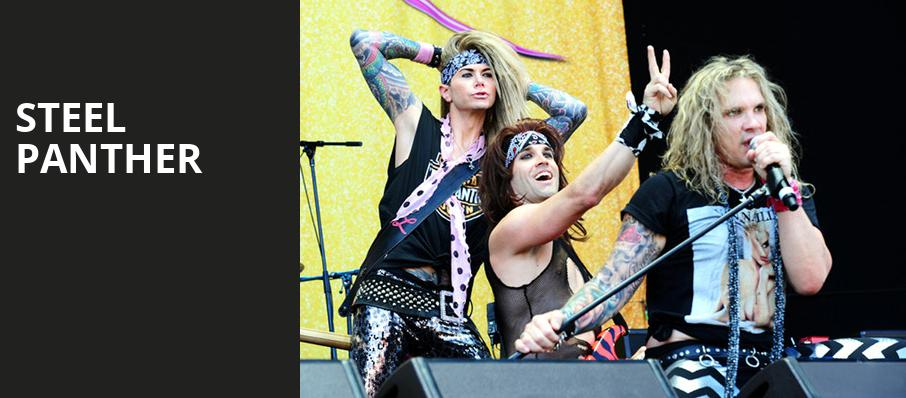 Steel Panther, The National, Richmond