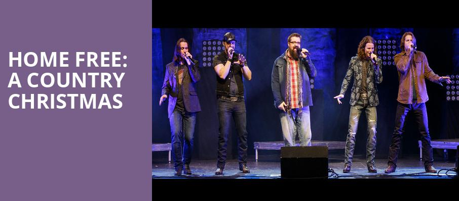 Home Free A Country Christmas, Carpenter Theater, Richmond