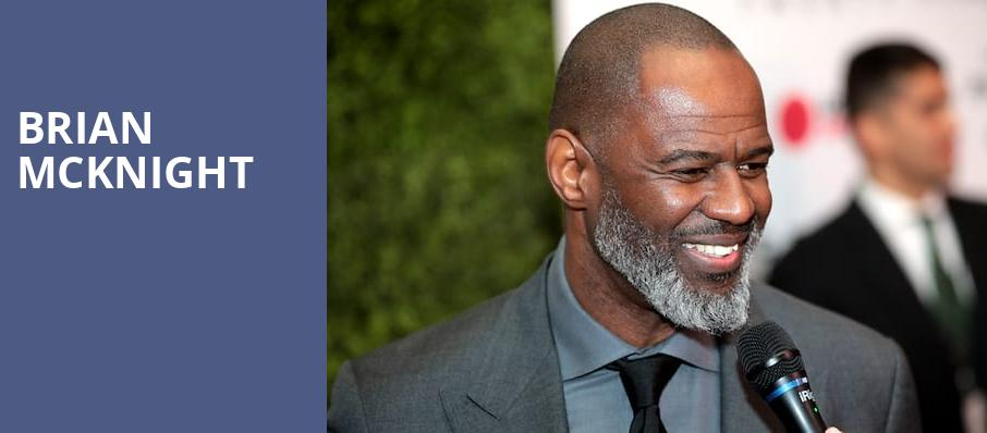 Brian McKnight, Innsbrook Pavilion, Richmond