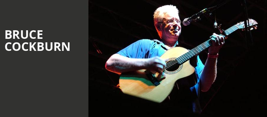 Bruce Cockburn, The Tin Pan, Richmond