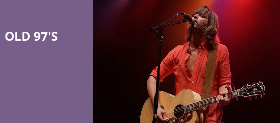 Old 97s, The National, Richmond