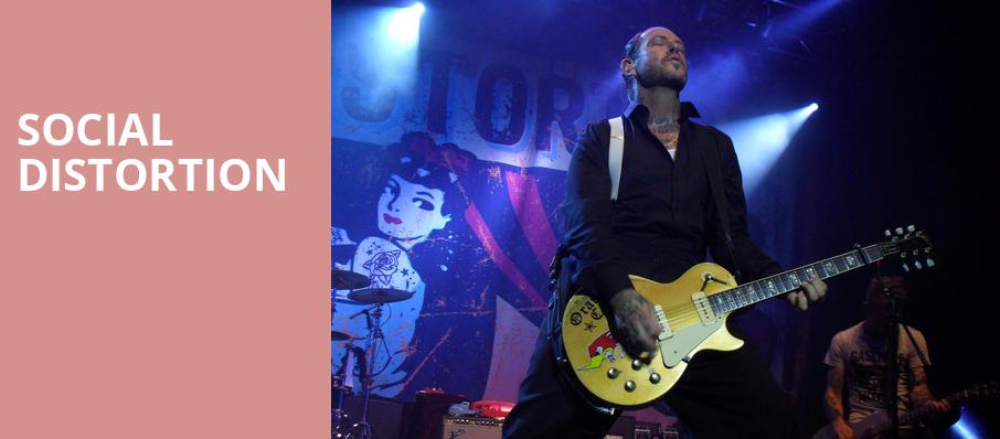 Social Distortion, The National, Richmond