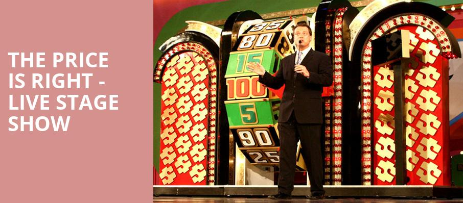 The Price Is Right Live Stage Show, Altria Theater, Richmond